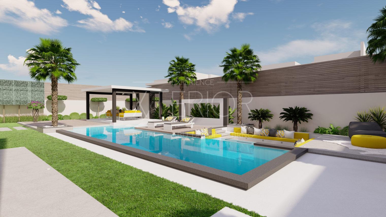Swimming pool construction company Dubai