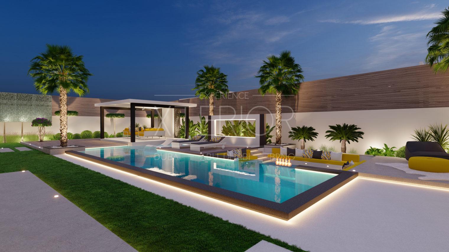 pool construction company Dubai