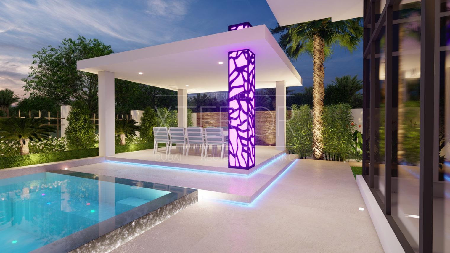 Pergola light Design