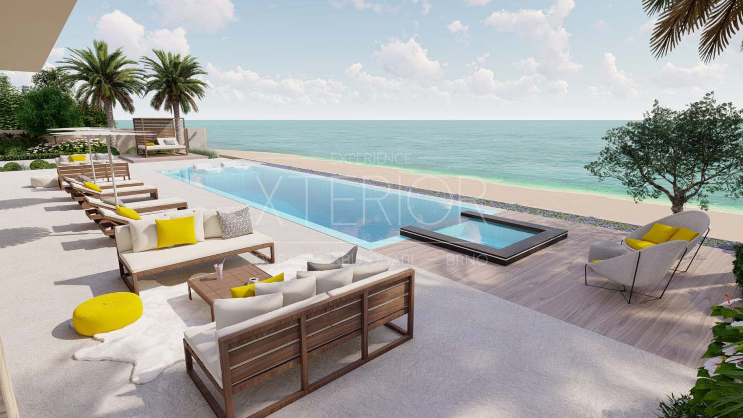 Swimming pool contractor in Dubai