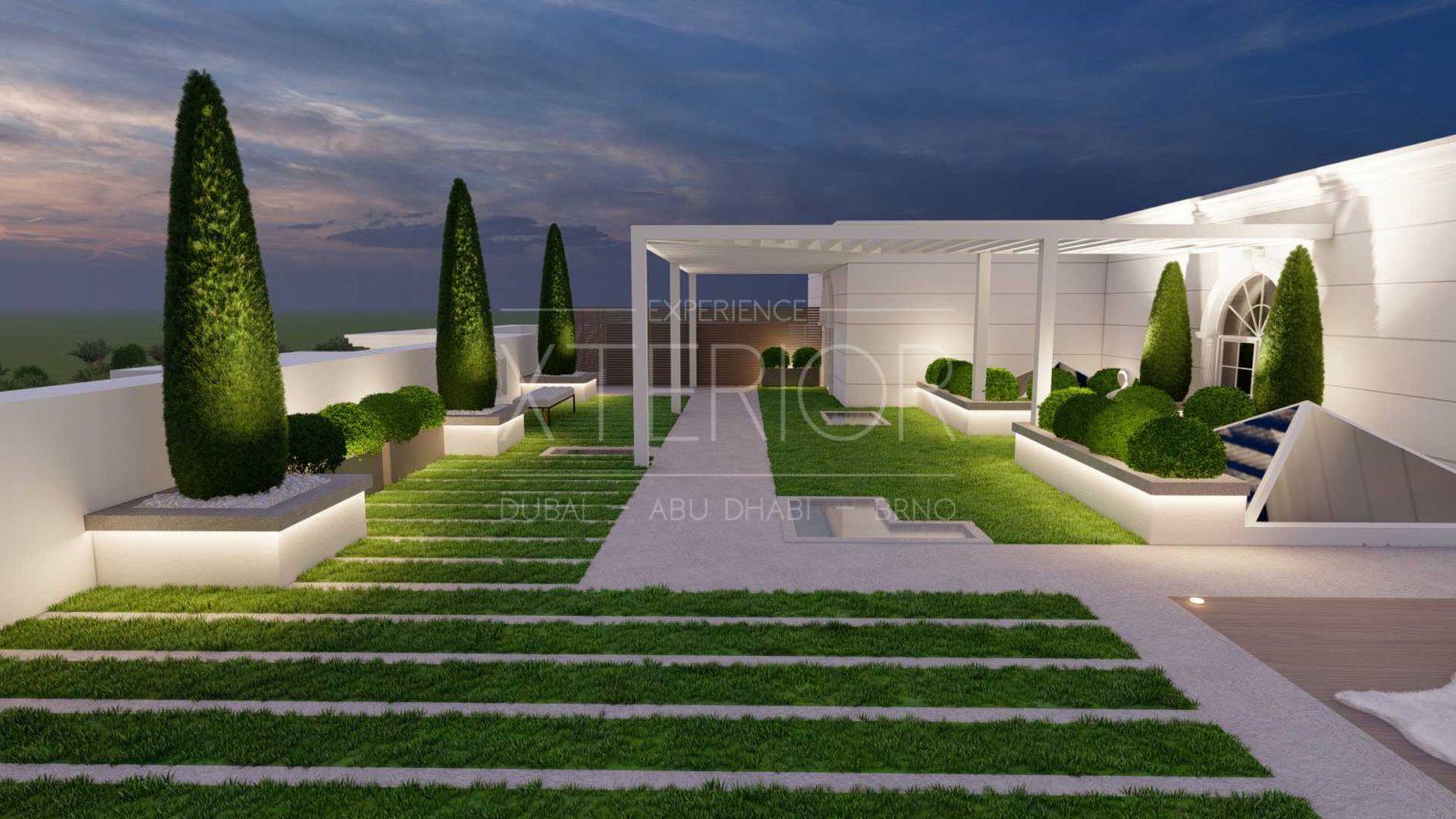 UMM AL SHEIF Landscape Design Area