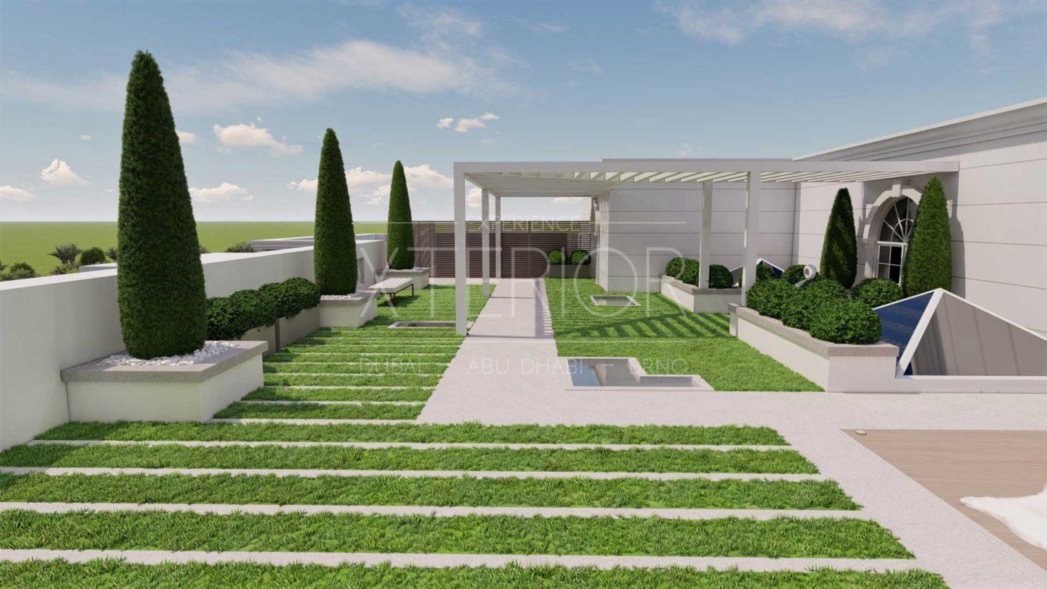UMM AL SHEIF Landscape Design View