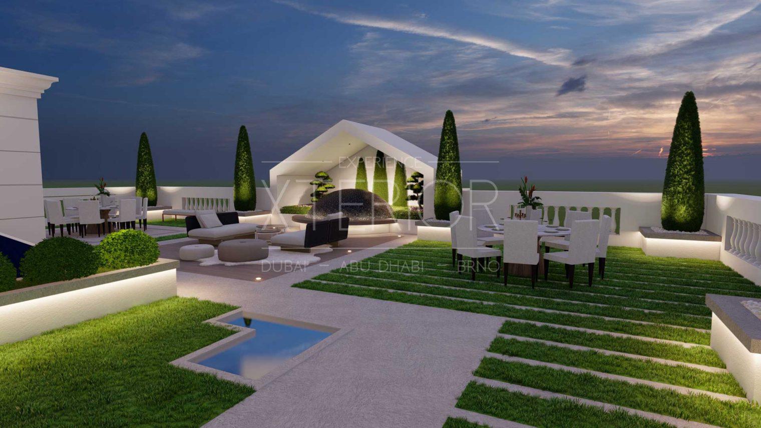 UMM AL SHEIF Outdoor Landscape Seating Area