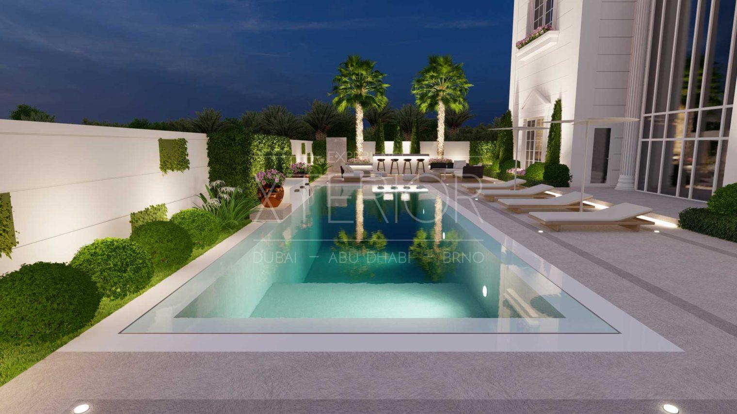 UMM AL SHEIF Outdoor Landscape View Design