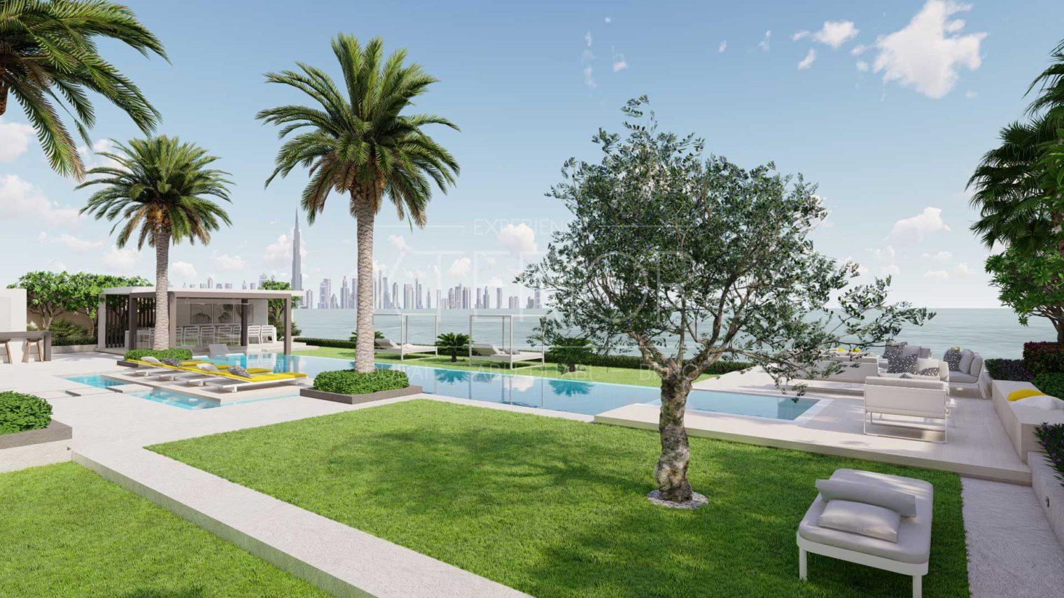 BVLGARI RESIDENCES Outdoor-Pool-and-Landscape-Design