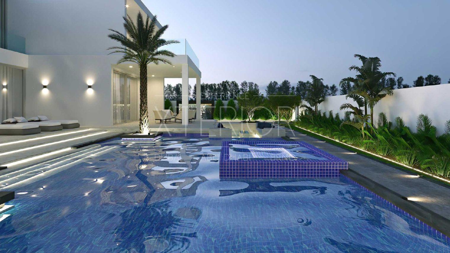 Pool outdoor area design